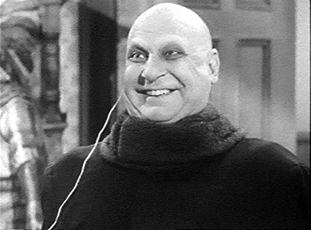 Fester gets a charge - Uncle